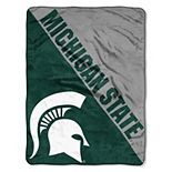 "Michigan State Spartans 60"" x 46"" Raschel Throw Blanket"