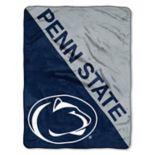"Penn State Nittany Lions 60"" x 46"" Raschel Throw Blanket"