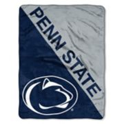 "Penn State Nittany Lions 60"" x 46"" Raschel Throw Blanket"