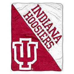 Indiana Hoosiers 60' x 46' Raschel Throw Blanket