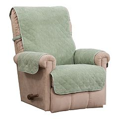 Ripple Plush Recliner Slipcover