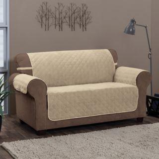 Jeffrey Home Chevron Solid XL Sofa Furniture Cover Slipcover