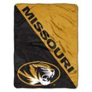 "Missouri Tigers 60"" x 46"" Raschel Throw Blanket"