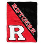"Rutgers Scarlet Knights 60"" x 46"" Raschel Throw Blanket"