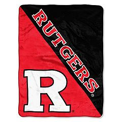 Rutgers Scarlet Knights 60' x 46' Raschel Throw Blanket