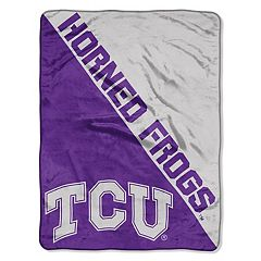 TCU Horned Frogs 60' x 46' Raschel Throw Blanket