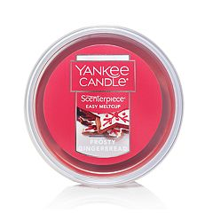 Yankee Candle Frosty Gingerbread Scenterpiece Wax Melt Cup