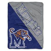 """Memphis Tigers 60"""" x 46"""" Raschel Throw Blanket"""