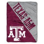 """Texas A&M Aggies 60"""" x 46"""" Raschel Throw Blanket"""