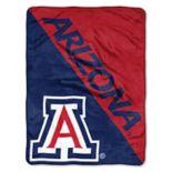 """Arizona Wildcats 60"""" x 46"""" Raschel Throw Blanket"""