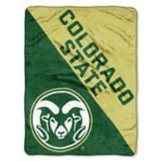 "Colorado State Rams 60"" x 46"" Raschel Throw Blanket"