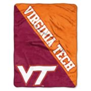 "Virginia Tech Hokies 60"" x 46"" Raschel Throw Blanket"