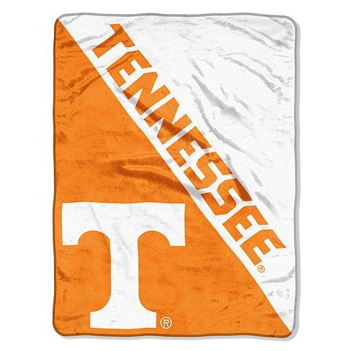 """Tennessee Volunteers 60"""" x 46"""" Raschel Throw Blanket"""