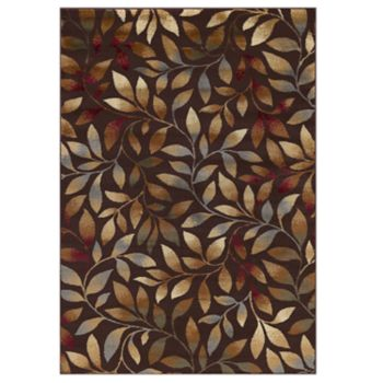 KHL Rugs Katniss Transitional Leaves Rug