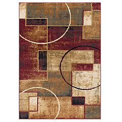 KHL Rugs Andrew Contemporary Abstract Rug