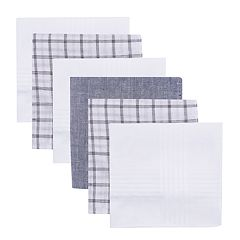 Men's Dockers® 6-pack Plaid & Solid Handkerchiefs