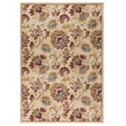 KHL Rugs Courtney Transitional Floral Rug