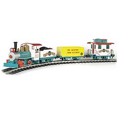Bachmann Trains Ringling Bros. And Barnum & Bailey  Li'L Big Top Ready To Run Electric Train Set - Large 'G' Scale