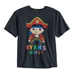 Boys 4-7 Ryan's World Pirate Graphic Tee