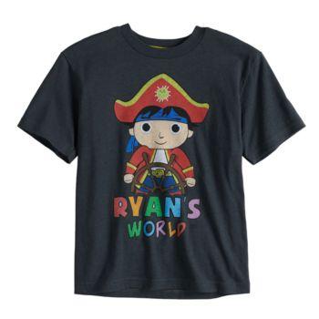 Boys 4-7 Ryan's World Pirate Graphic Tee
