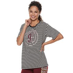Juniors' Harry Potter Platform 9 3/4 Stripe Graphic Tee