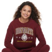 Juniors' Harry Potter Hogwarts Long Sleeve Sweatshirt