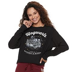 Juniors' Harry Potter Hogwarts Graphic Sweatshirt