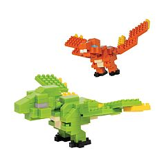 Protocol PixelPet 3D Block Zoq the Dragon Puzzle Set