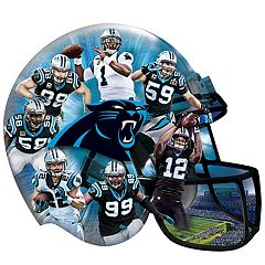 Carolina Panthers 500-Piece Helmet Puzzle