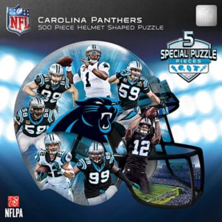 Carolina Panthers 500-Piece Helmet Puzzle
