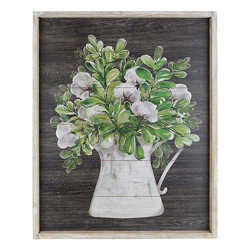 Belle Maison Floral Bouquet Farmhouse Wall Decor