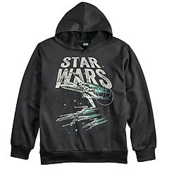 Boys 8-20 Star Wars X-Wing Glow-In-The-Dark Hoodie