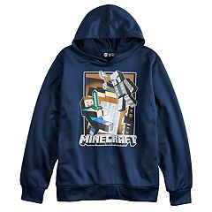 Boys 8-20 Minecraft Haunted Mansion Hoodie
