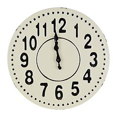 Belle Maison Farmhouse Wall Clock