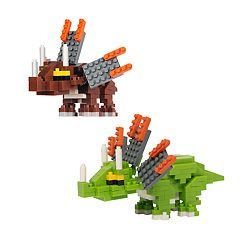 Protocol PixelPet 3D Block Axo the Dragon Puzzle Set