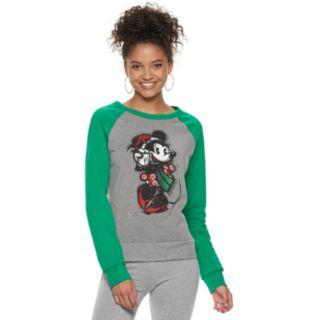 Disney's Minnie Mouse Juniors' Christmas Sweatshirt