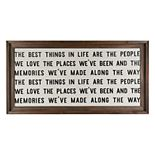 "Belle Maison ""Best Things"" Farmhouse Wall Decor"