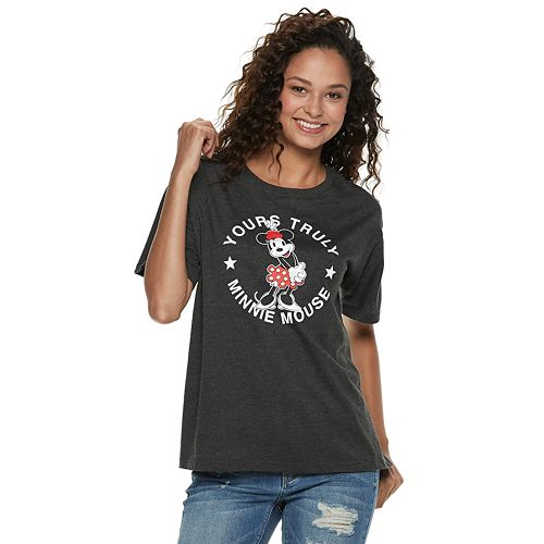 "Disney's Mickey Mouse 90th Anniversary Juniors' Minnie Mouse ""Yours Truly"" Tee"