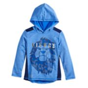 "Disney's The Lion King Boys 4-12 Mufasa ""Fierce"" Metallic Playcool Pullover Hoodie by Jumping Beans®"