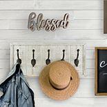 "Belle Maison ""Blessed"" Farmhouse Wall Decor"