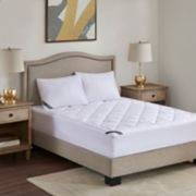 Madison Park 525 Thread Count Cotton Rich Down Alternative Mattress Pad