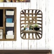 Belle Maison 1-Shelf Farmhouse Wall Decor