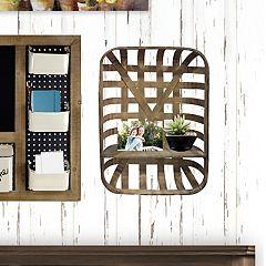 Belle Maison 1-Shelf Farmhouse Wall Decor