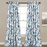 Lush Decor 2-pack Dolores Room Darkening Window Curtains