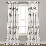 Lush Decor 2-pack Rowley Birds Room Darkening Window Curtain
