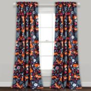 Lush Decor 2-pack Pixie Fox Room Darkening Window Curtain