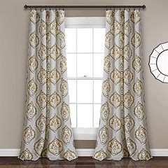 Lush Decor 2-pack Harley Room Darkening Window Curtain