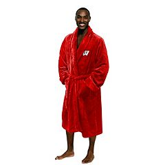 Men's Wisconsin Badgers Plush Robe