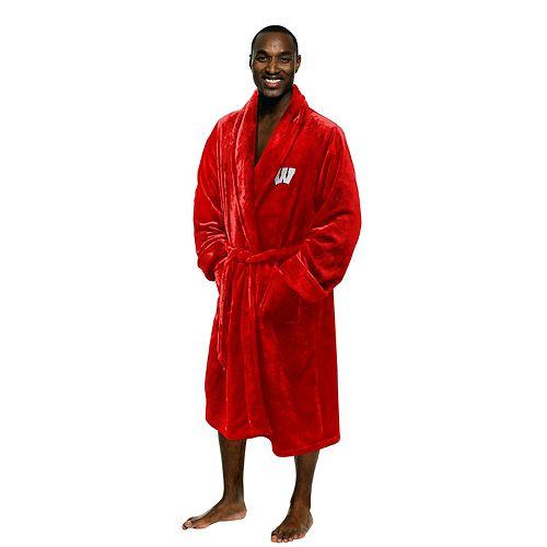 Men's Wisconsin Badgers Plush Robe