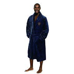Men's West Virginia Mountaineers Plush Robe